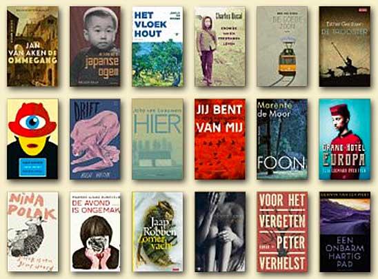 De Libris Literatuurprijs: gevarieerde longlist